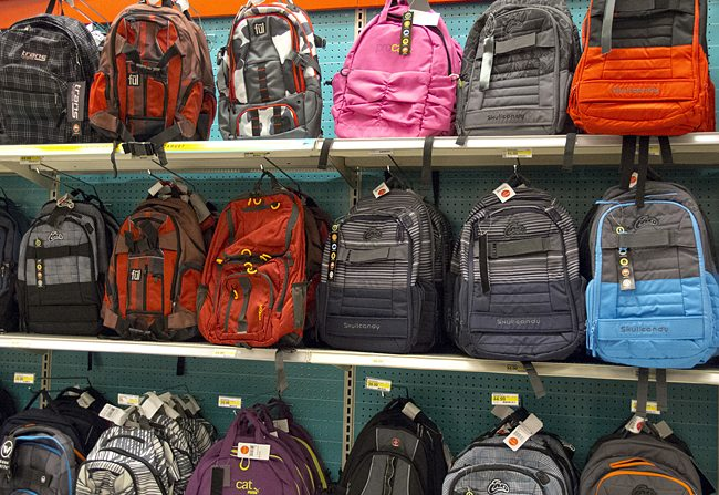 backpack drive Phoenix, Scottsdale Chandler