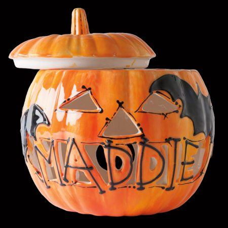 As You Wish, Painted Pottery, Name Carved Pumpkin, Halloween crafts, Halloween lanterns