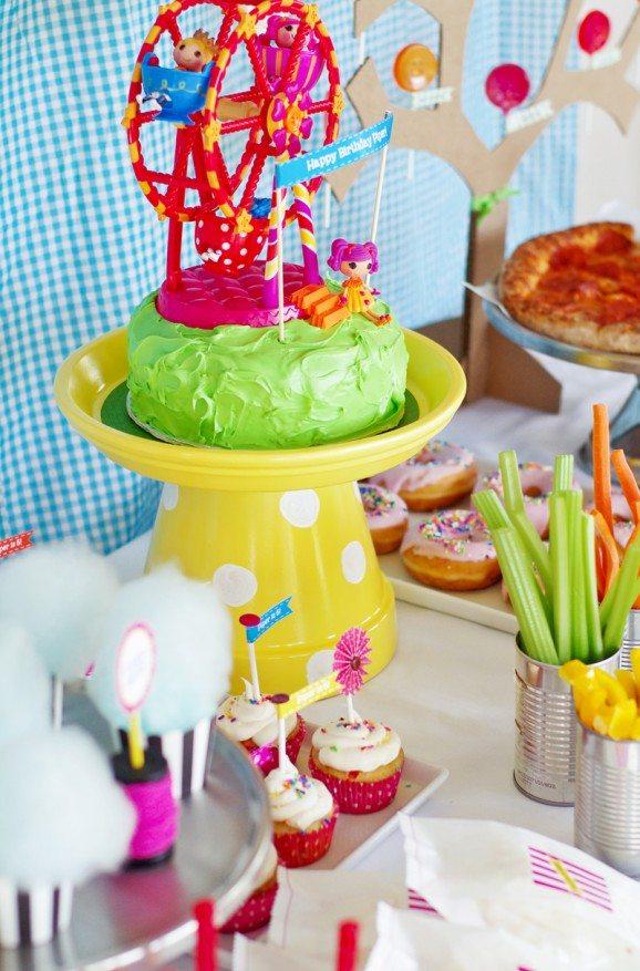 Lalaloopsy, Birthday party themes, Arizona parties, party table ideas