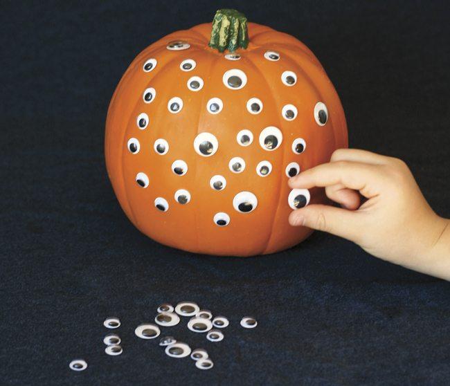 pumpkin, craft, Halloween crafts, no-carve pumpkin, Halloween