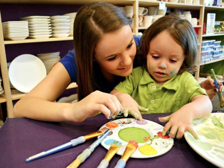 As You Wish, pottery painting, Mother's Day, Arizona