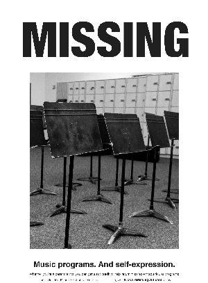 Arizona school tax credits missing poster