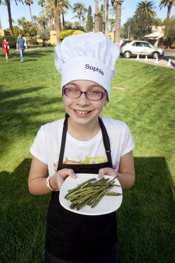 Sophia Gray, Blue Cross Blue Shield, Walk On! Challenge, kids cooking, recipe contest