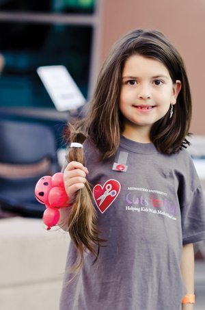 Cuts for Kids, Locks of Love, Midwestern University