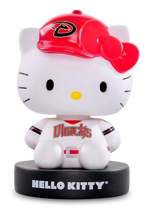 Arizona Diamondbacks, D-backs, bobblehead, giveaway, Hello Kitty, 2015 season