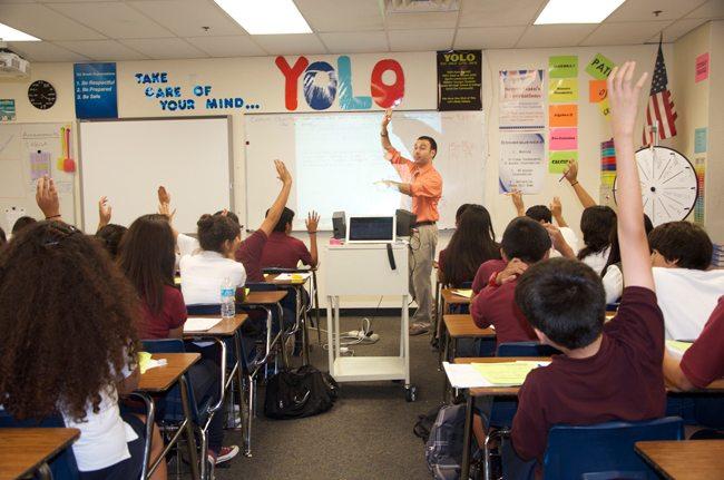 Jason Catanese, Pueblo del Sol Middle School, Isaac School District, Arizona
