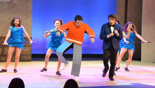 Flat Stanley travels to VYT stage