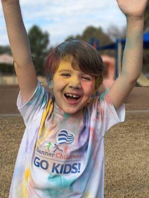 Banner Health, GO KIDS! Challenge, fitness, kids, Arizona, families