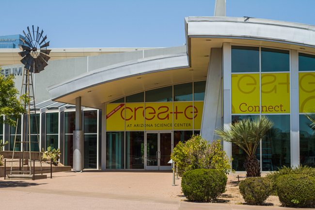 CREATE, maker space, Phoenix, Arizona, Arizona Science Center