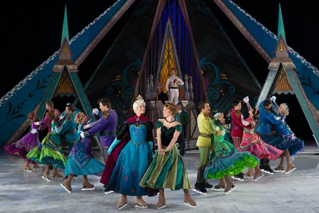 Disney shows on Valley stages