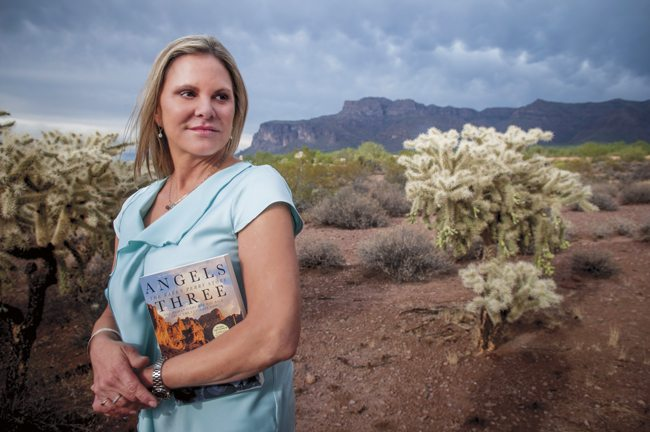 Karen Perry, Angels Three, Superstition Mountains, plane crash, Rick D'Elia photo