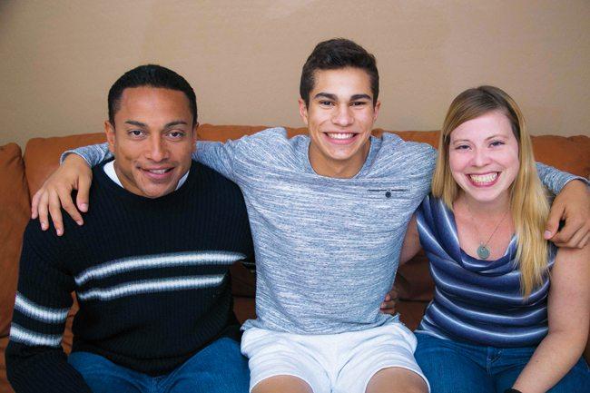 blended families, Lopez family, Arizona, kids, parenting