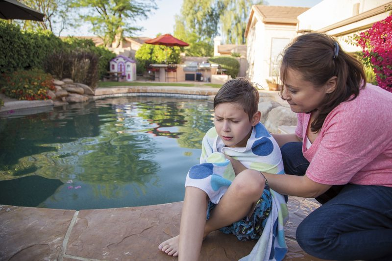 secondary drowning, signs, symptoms