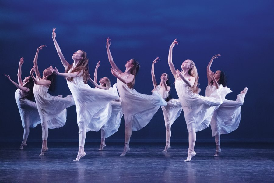 """Showcse"" Ballet Etudes at the Mesa Arts Center."