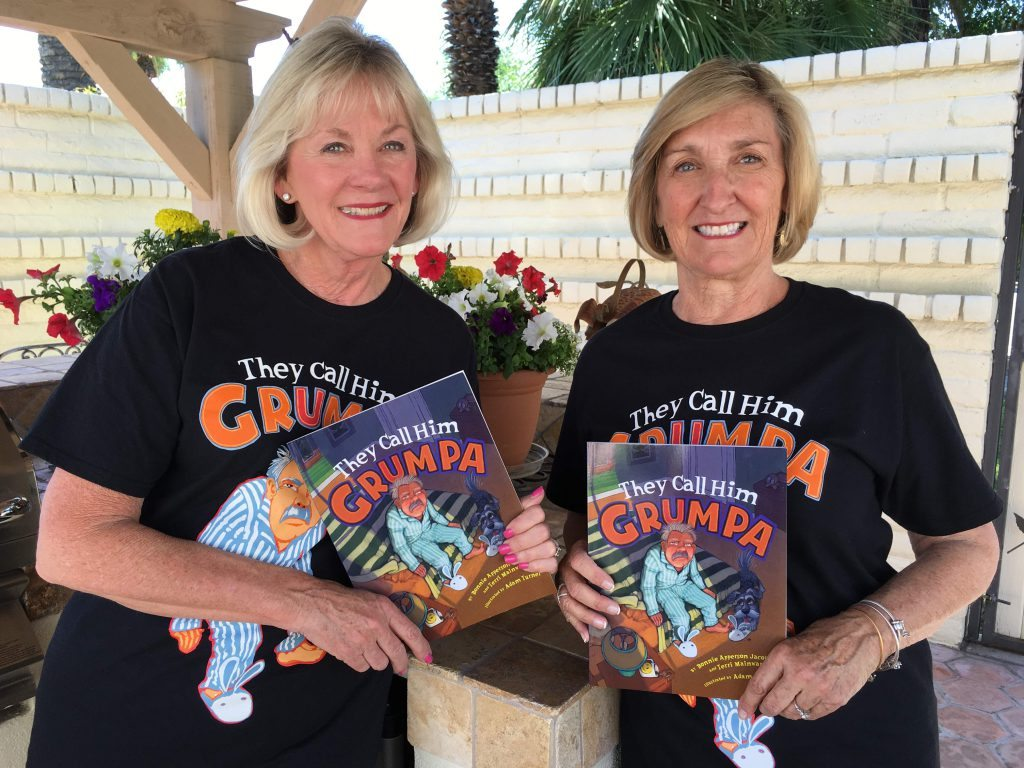Grumpa authors garden
