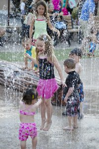 Phoenix Zoo Splash Pad High Res