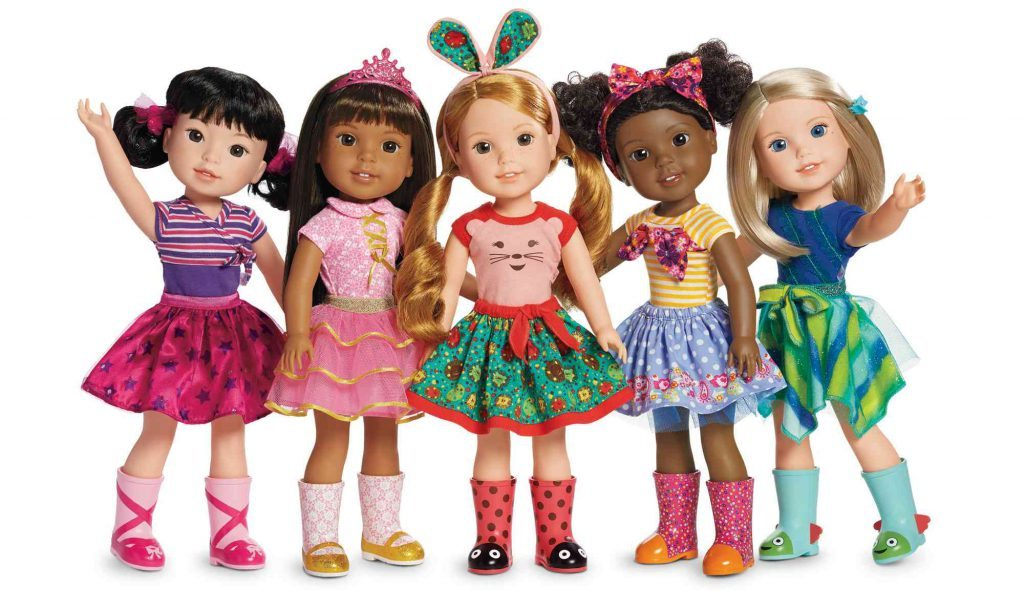American Girl recently started selling 14-inch WellieWishers dolls for ages 5 and up.