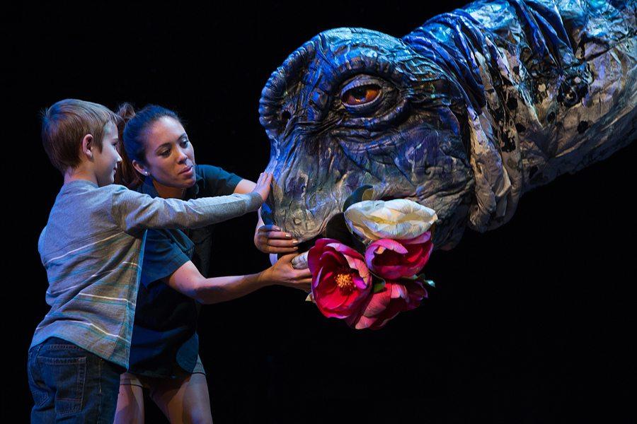 Oct. 6-8: Erth's Dinosaur Zoo Live at the Mesa Arts Center. Photo courtesy of Erth Dinosaur Zoo Live.