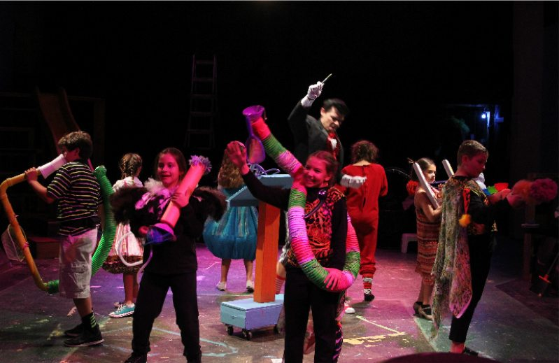 """""""Seussical"""" the musical. Photo courtesy of Desert Stages Theatre."""