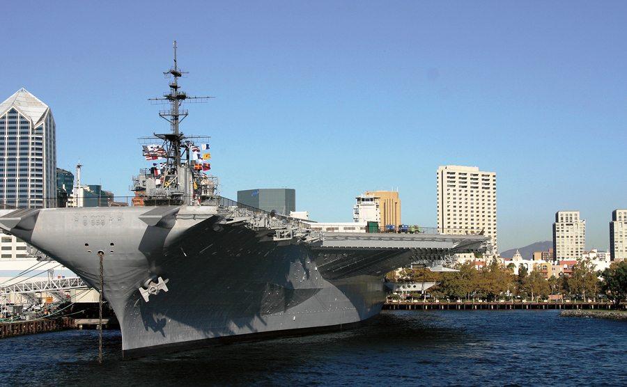 Downtown USS Midway. Courtesy SanDiego.org.