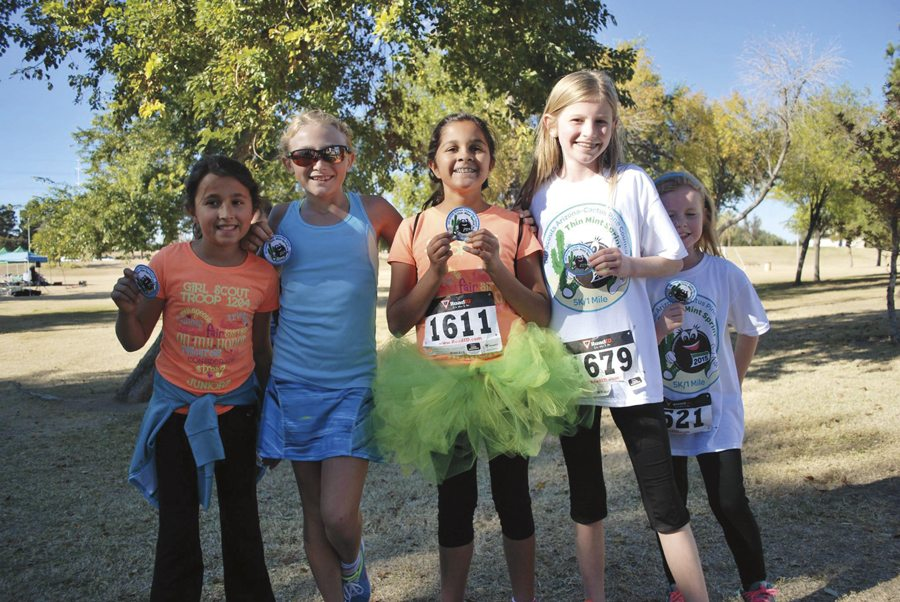 Head to Tempe's Kiwanis Park for the 5K Thin Mint Sprint on Saturday, Oct. 1. Photo Facebook.com /gsacpc.