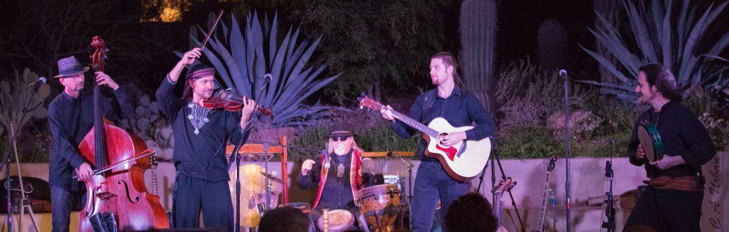 Music in the Garden is a fun date-night option. Photo courtesy of Desert Botanical Garden.