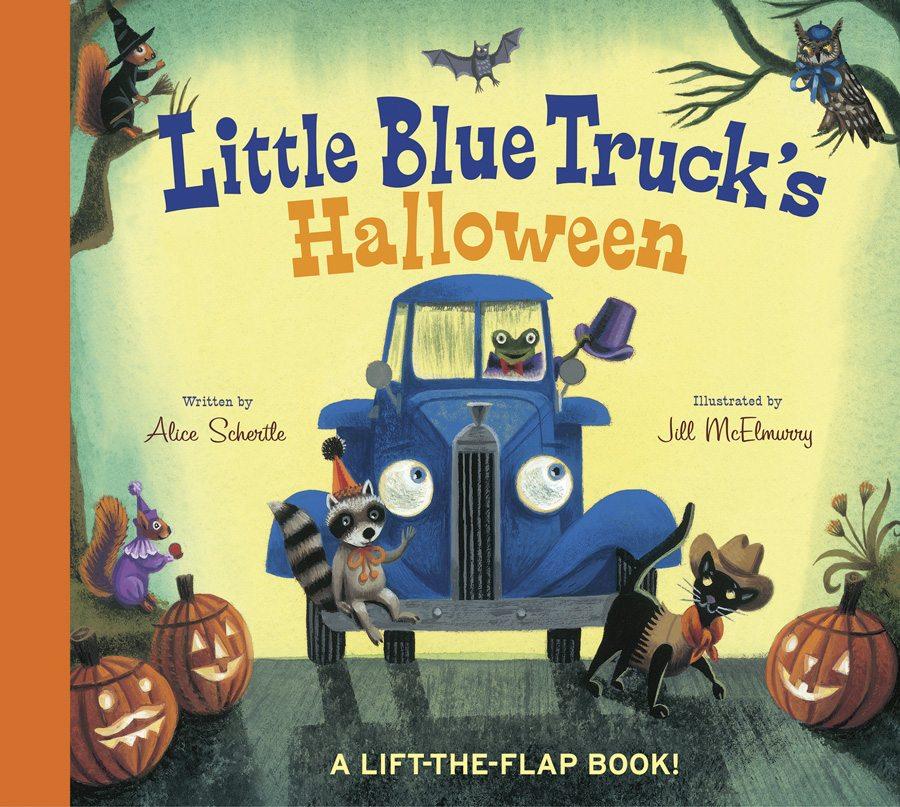 Halloween books, Little Blue Truck's Halloween