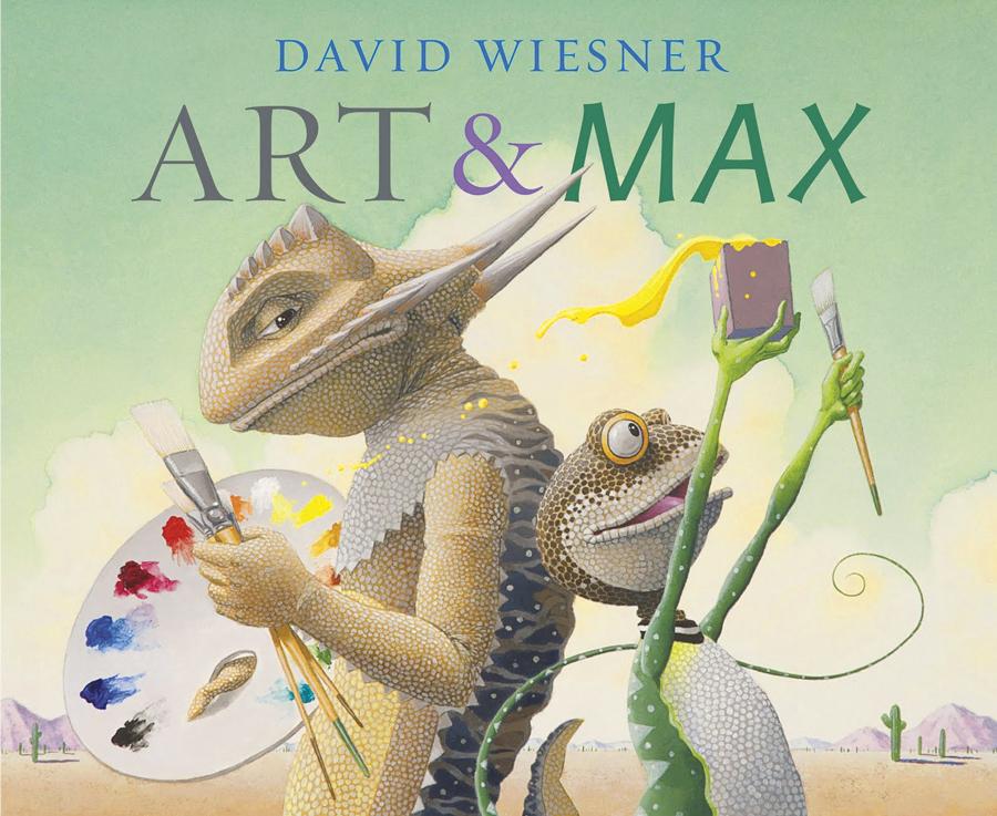 Southwest children's books, Art & Max