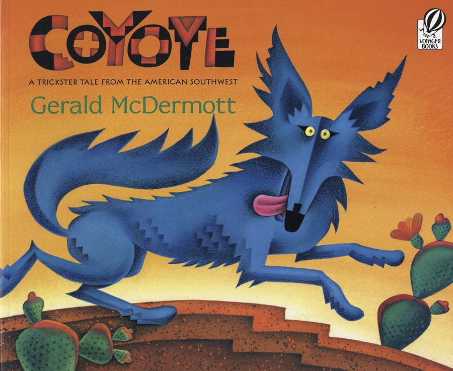 Southwest children's books, Coyote, Gerald McDermott