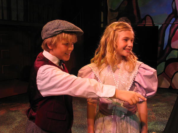 """Valley Youth Theatre brings """"The Secret Garden"""" to the stage April 7–23. Above are Tanner Smalley as Colin and Allie Starts as Mary Lennox from a 2005 VYT production."""