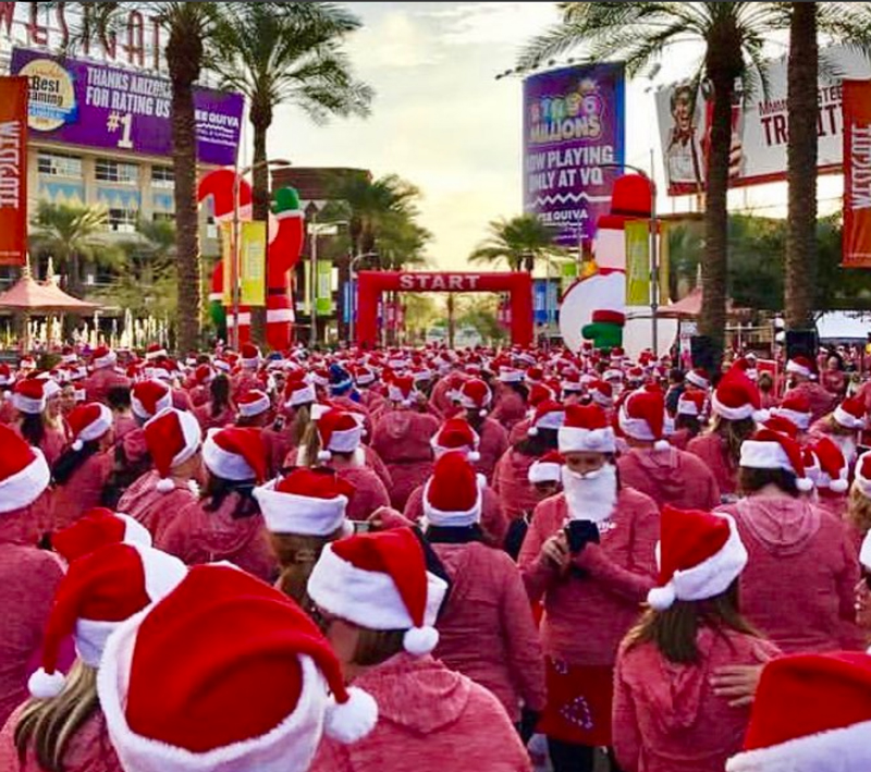 Santa Hustle, Westgate, Glendale, Arizona