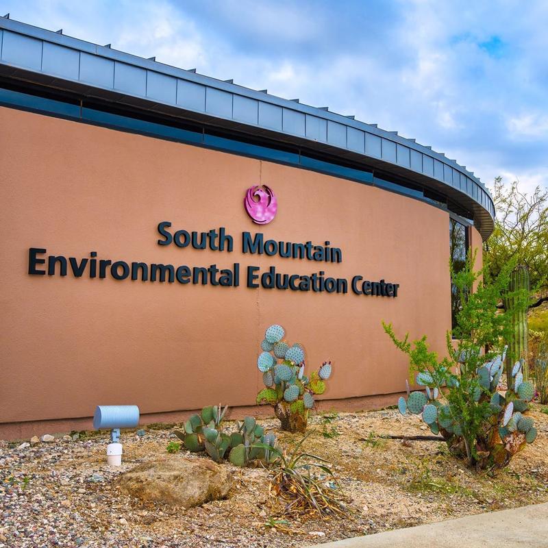 moonlight walks, South Mountain Environmental Education Center, Phoenix