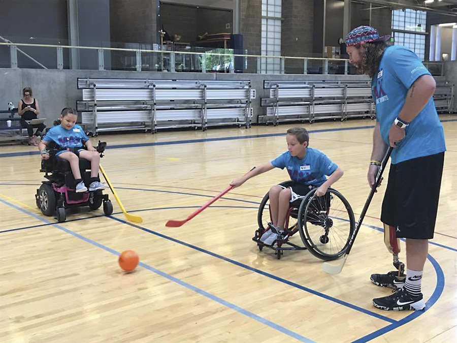Ability 360 Sports and Fitness Center, Phoenix, adaptive sports, teens, children, disabilities
