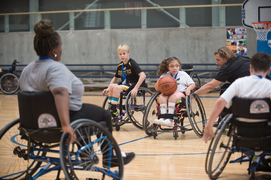 Max in Motion, Ability 360 Sports and Fitness Center, adaptive sports