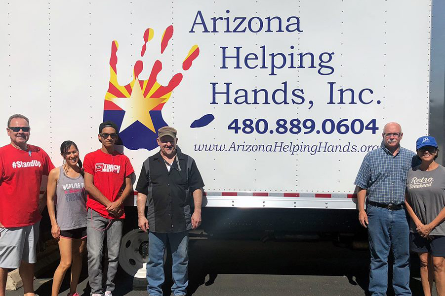 Arizona Helping Hands, donation, foster children
