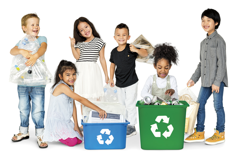 Recycle, Earth day