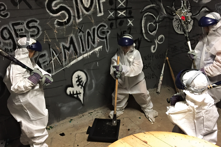 Rage Rooms are popping up in AZ some even cater to kids and families