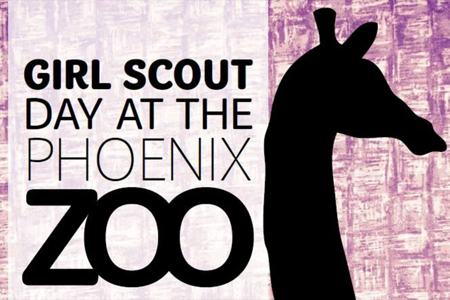 Girl Scout Day at the Phoenix Zoo