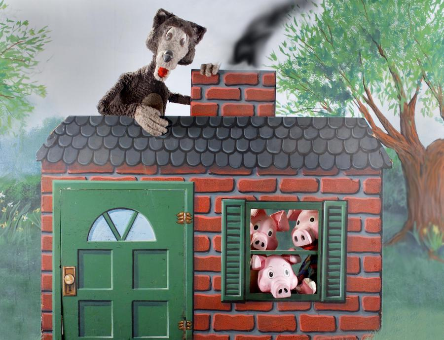 Great Arizona Puppet Theater, Three Little Pigs