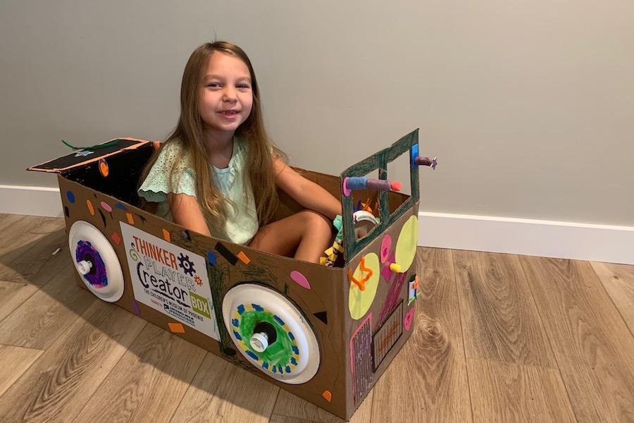 THINKER PLAYER CREATOR box, Children's Museum of Phoenix, giveaway