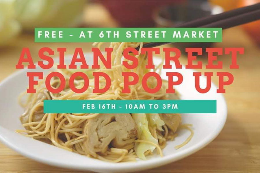 Asian Street Food Pop Up Event