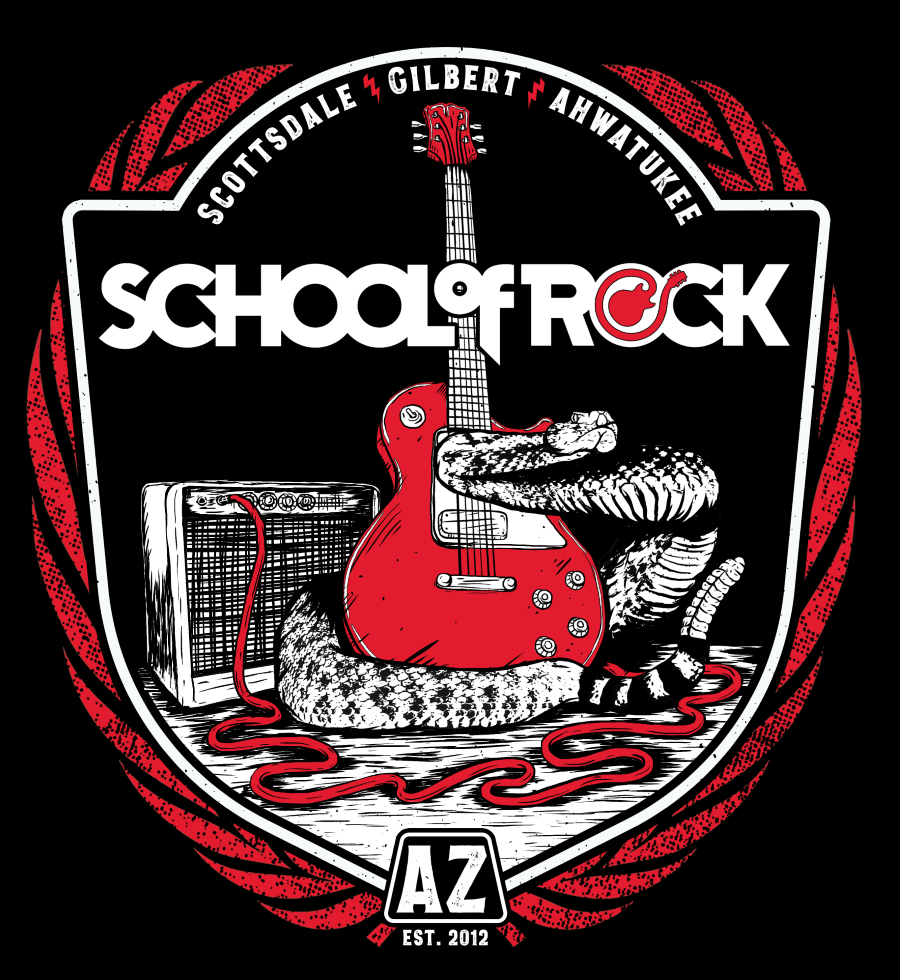 School of Rock, performing arts, summer camp, kids, Arizona