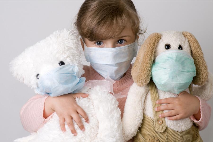 children, masks, coronavirus, Covid-19