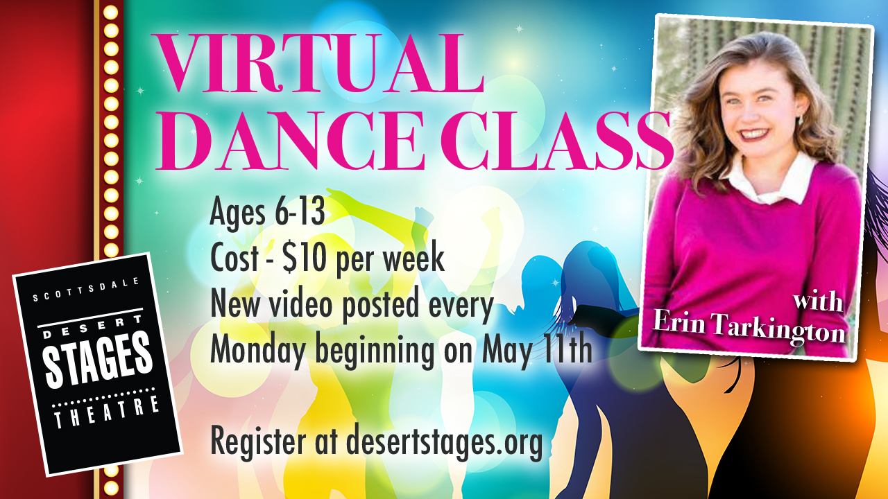 virtual dance class, Desert Stages Theatre