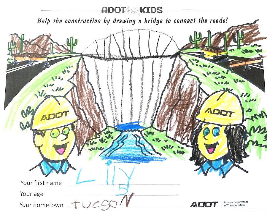 ADOT Kids, learning at home
