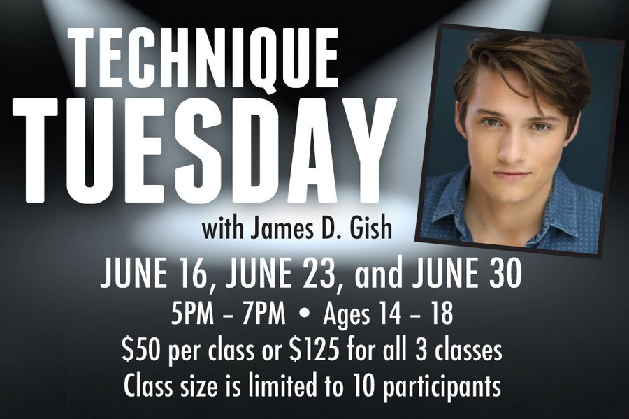 Technique Tuesday with James D. Gish