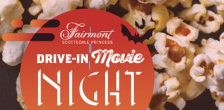 drive-in, movie, Fairmont Scottsdale Princess