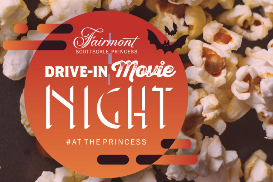 drive-in, movie, Fairmont Scottsdale Princess