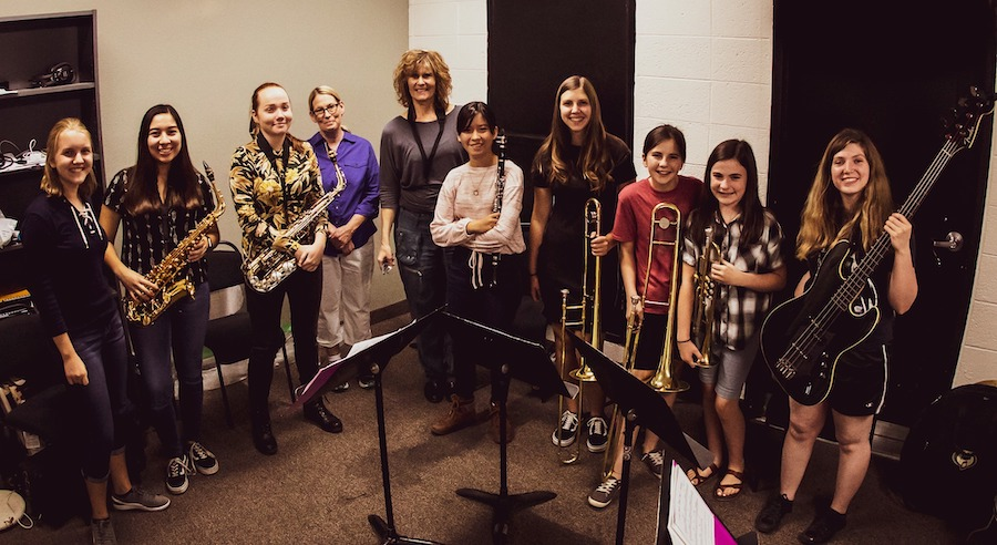 all female jazz musicians, The Nash, Jazz Girls Rising