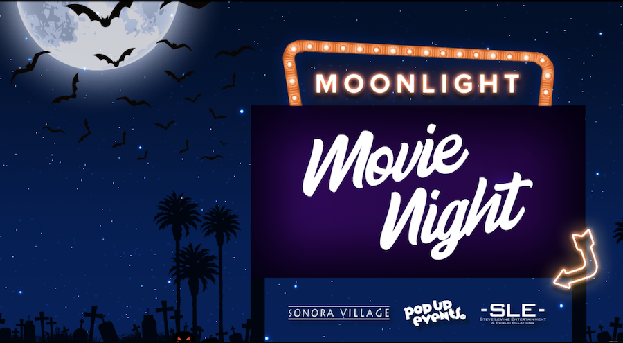 Moonlight Movie Night, Halloween movies, drive-in movies